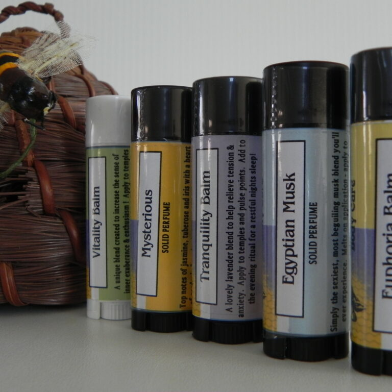 Solid Aromatherapy & Perfumes